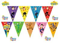1x The Wiggles NEW Banner Bunting Flag *HANDMADE*. Party Supplies Lolly Loot Bag