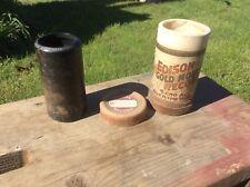 Antique Thomas Edison Gold Moulded Records , Advertising, 9454 Bonnie Jean