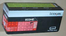 [734*] LEXMARK 603HE BLACK TONER ( RRP>$275 )