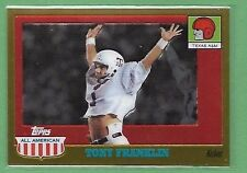 2005 Topps All-American TONY FRANKLIN Gold Chrome /555 TEXAS A&M