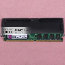 Kingston PC2-6400 2 GB KVR800D2N6/2G DDR2 800 MHz DIMM Desktop Memory RAM