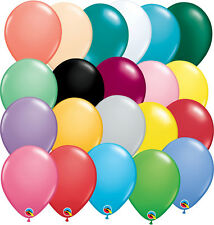 "Qualatex Pastel. Jewel and Fashion 5"" & 11"" Decorators Balloons Limited Quanties"