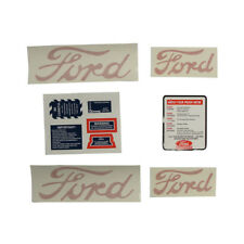 8N5052DP Decal Set for 8N Ford Tractors 1950 to 1952 (Models with Proofmeter)