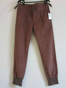 Paul Smith suede trousers / smart joggers Size 30 Medium M
