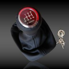 SPEED SHIFT GEAR KNOB RED LED ILLUMINATED    mercedes W203   6 SPEED