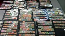 Asia stamp collection, Early old Stamps. 13 countries. 765 stamps. BARGAIN
