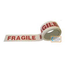48mm x 66m FRAGILE BANDE Sellotape Paquet Emballage Adhésif emballage