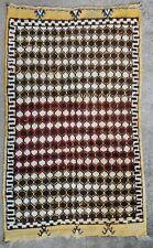 Tapis rug ancien Marocain Tribal Oriental Berbere 1950
