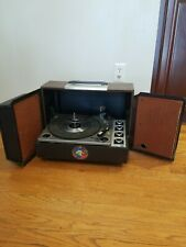 Rare Vintage Portable Record Player Turntable - PHILCO FORD R-1576 - Solid State