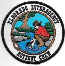 *NEW*  Wildland - El Dorado Interagency Hot Shot Crew, CA  fire patch