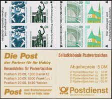 GERMANIA 1991 LIBRETTO   MH 27  NUOVO COMPLETO  MNH ** (10)