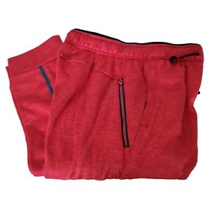 Russell Pants XL Athletic Jogger Red Dri Power 360