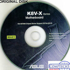 ASUS GENUINE VINTAGE ORIGINAL DISK FOR K8V-X Motherboard Drivers Disk M441