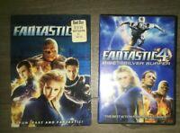 Fantastic Four & Fantastic Four: Rise of the Silver Surfer (DVD, 2-Disc Set)