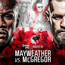 FLOYD MAYWEATHER & CONOR McGREGOR SUPER-FIGHT MONEY-FIGHT POSTER PHOTO PRINT