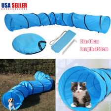 "16"" 4m Pet Dog Training Agility Open Tunnel Chute Puppy Tube W/carrier Bag"