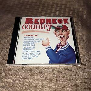 MINT! Redneck Country [K-Tel] by Various Artists CD - BELLAMY/CHARLIE DANIELS