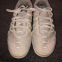 Nike Air Max Vapormax Plus White Pure Platinum Silver Grey Gray 924453-102 Sz 9
