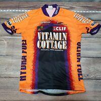Louis Garneau Cycling Jersey Orange Mens Size Small Medium