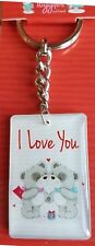 """""""I Love You"""" Metal & Acrylic Keyring Gift Toggles and Friends Boyfriend Husband"""