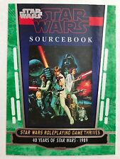 2017 Topps Star Wars 40th  #73 Star Wars Roleplaying Game Thrives GREEN