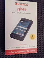 Zagg Invisible Shield Glass Screen Protector for Samsung Galaxy S7 Active