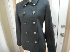 Katherine Kelly Ladies 100 % Cashmere Coat~SIZE 8~Charcoal~ $899 new with tags!!