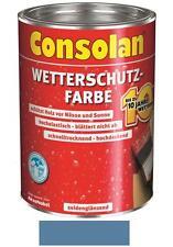 Consolan Wetterschutz-Farbe Taubenblau 10 Liter NEUWARE Art. Nr. 5075870