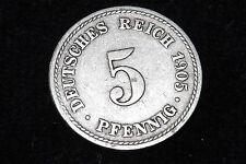 1905-f Germania cinque 5 Pfennig Medaglia. - sconto sulla spedizione per più di 1 articolo