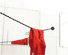 Elastische Reisewäscheleine Wäscheleine mit Universal-Stöpsel Travel Laundry Kit