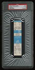 PSA 4 CALIFORNIA GOLDEN SEALS 1975 Unused NHL Hockey Ticket at The Omni Atlanta