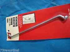 Brake Bleeder Wrench 1/4 x 3/8 Offset Caliper Wheel Cylinder USA Made 6 Point
