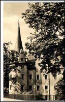 Hartenstein Sachsen Erzgebirge DDR Postkarte ~ 1964 Partie am Schloß Stein