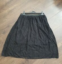 Black Lace Skirt womens ladies new without the tags size 14 uk steampunk gothic