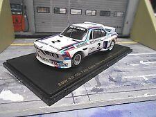 BMW 3.0 CSL DRM ETCC Nbrg 1975 Faltz Alpina Weisberg Grohs Kelleners Spark 1:43