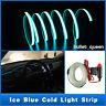 3M ICE BLUE EL Wire Car Interior Unique Decor Fluorescent Neon Cold light Strip