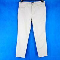 Marc Cain Collections Damen Jeans Hose Gr N5 42 Straight Straßknopf Np 149 Neu