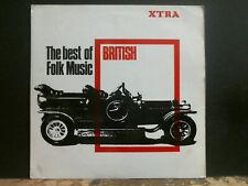 BEST OF BRITISH FOLK MUSIC Various  LP 1966  Bert Jansch etc    EX !!