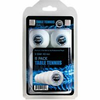 3-Star Table Tennis Ping Pong Balls, 6 Pack -Sportly
