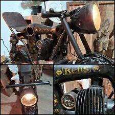 Motorrad Lampe Stehlampe Rider Bike Einzelstück Unikat  Mod.02