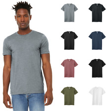 BELLA+CANVAS Unisex Sueded Tee Soft Feel Comfort Everyday T-Shirt BC3301