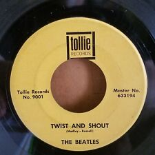 Beatles | Early Rock 45 | There's a Place / Twist and Shout  | Tollie 9001
