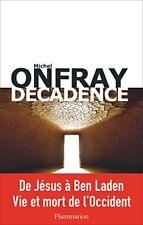 Décadence (michel Onfray) | Flammarion