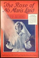 The Rose Of No Man's Land Sheet Music (1918)Caddigan Brennan SheetNoteMusic.com