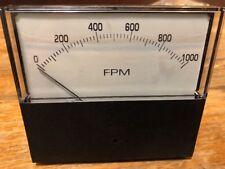 Motion Industries Feet Per Minute Indicator Gauge Scale 0 1000