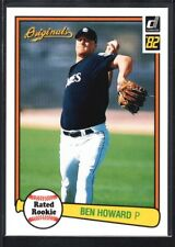 BEN HOWARD 2002 DONRUSS ORIGINALS #4 AQUEOUS GLOSSY PADRES SP