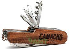CAMACHO CIGAR LE SWISS ARMY STYLE KNIFE - BUILT IN FLASHLIGHT