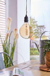 Luxform Battery Powered Indoor Outdoor Garden Hanging Pendant Light with Timer