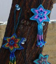 Blue Rainbow Handmade Shooting Star Christmas Ornament