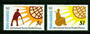 BAHAMAS     - 1981  – YEAR OF THE DISABLED  – VF  **